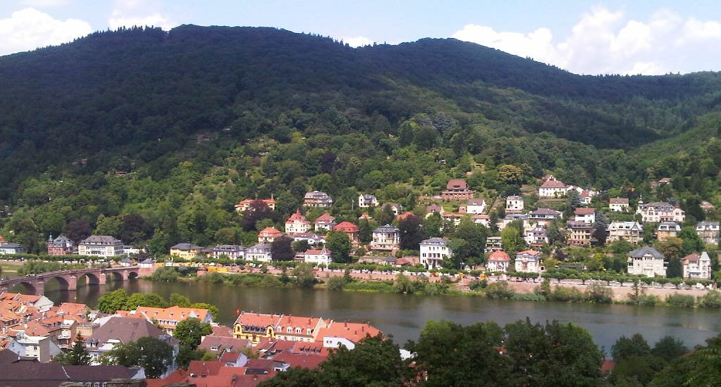 Heidelberg, the view from the castle