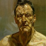 """Reflection"", by Lucian Freud (self-portrait)"