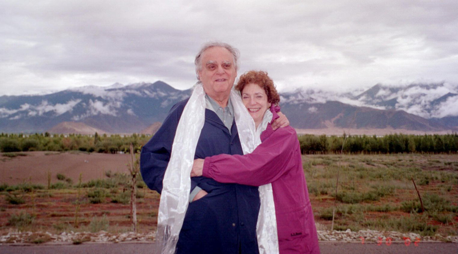 Donald and Shelley Rubin in Tibet, 2002