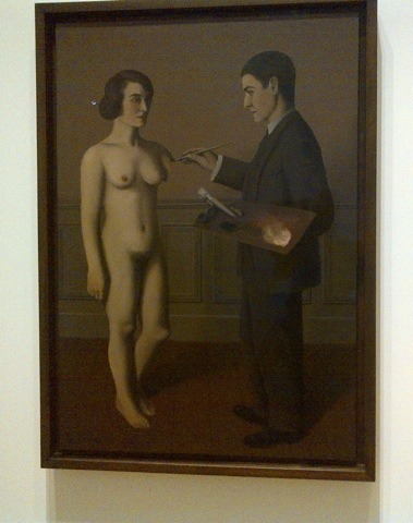 """Attempting the Impossible"" by Magritte"