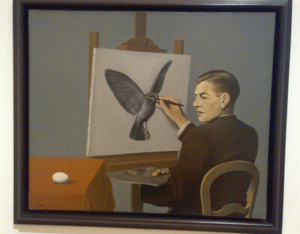 Clairvoyance by Magritte